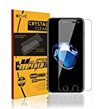 Elove iPhone 7 Front Tempered Glass [Crystal Clear] [9H Hardness] [Anti-Scratch] Screen Protector For Apple iPhone 7