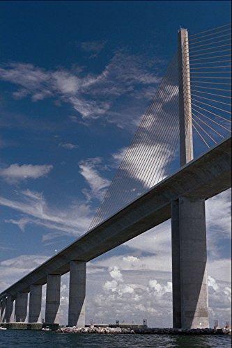 792006-sunshine-skyway-bridge-tampa-bay-florida-usa-a4-photo-poster-print-10x8