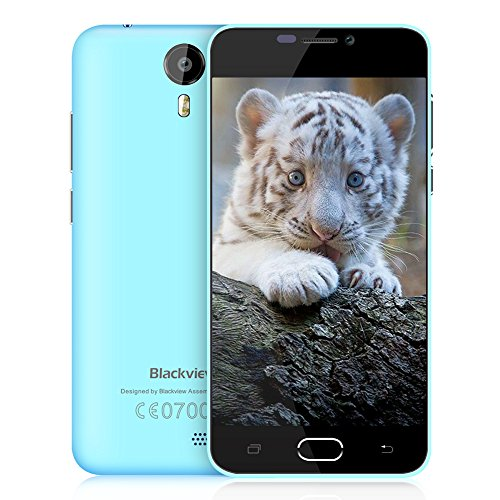 Blackview BV2000 Moviles Libres 4G, Smartphones de 5.0' HD (8 GB ROM, 2400mAh Batería, 5MP + 2MP Cámara, Android 5.1,...