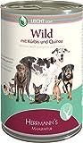 Herrmanns Wild mit Kürbis und Quinoa, 12er Pack (12 x 400 g)