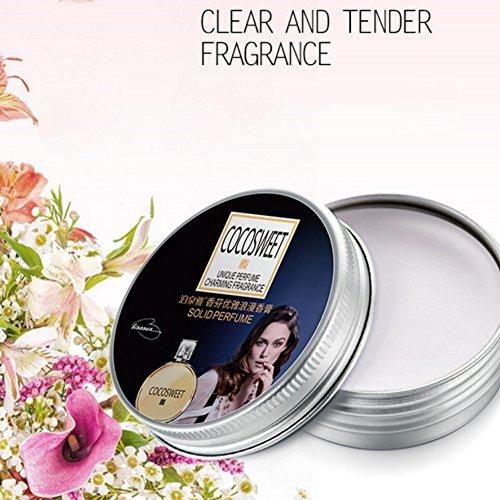 KAYI Elegantes festes Parfüm für Frauen 20g (Pacifica Solid Perfume)