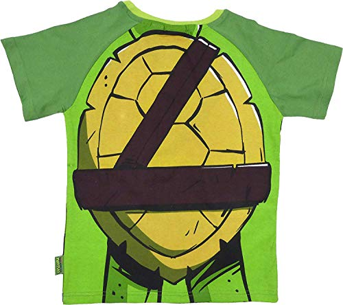 Kinder TMNT Teenage Mutant Ninja Turtles Sommer Top Spaß Verkleidung Stil - Grün, EU 104-110