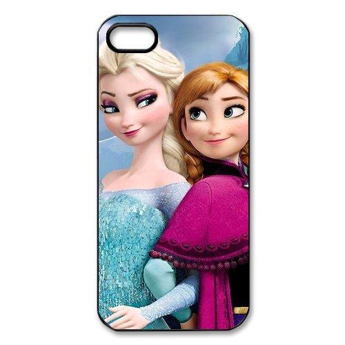 Coque de protection en tPU pour iPhone 5/5S, customize disney la reine des neiges (anna et elsa, olaf case for iPhone 5 5S  disney la reine des neiges elsa (anna olaf, et  coque de prote