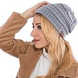 Street Classics Cozy fit Beanie, Mütze | Damen, Herren | Wintermütze Strickmütze | Wollmütze Beanie (Grau)