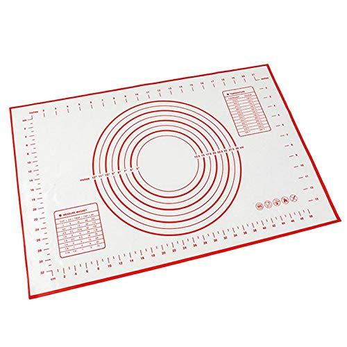 Zhuhaimei,Fondant Pad Lebensmittelqualität Backblech Pad(color:WEISS,size:1PC)