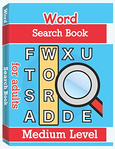 r Adults - Medium Level: Word Search Puzzle Books for Adults, Large Print Word Search, Vocabulary Builder, Word Puzzles for Adults ()