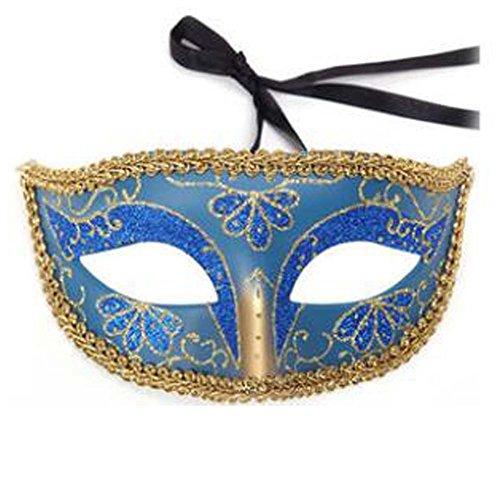 Halloween Maske Maskerade Kostüm Kinder Spielzeug Kinder Maske Handgefertigt (16,5x8 cm) (Masken Verkauf Weiße Zum)