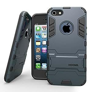 hoomil coque iphone 5 5s armor s ries iphone 5 5s case silicone antichoc avec b quille etui. Black Bedroom Furniture Sets. Home Design Ideas