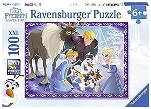 Ravensburger Puzzle 100 Piezas, Frozen Olaf (10730) , Modelos/colores Surtidos, 1 Unidad