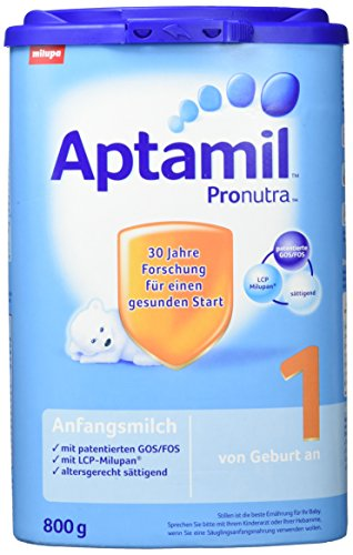 Aptamil Pronutra 1 Anfangsmilch, 4er Pack (4 x 800 g)