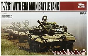 Modelcollect ua72011Maqueta de T de 72b1with Era Main Battle Tank