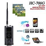 Qiqi Jagdkamera 1080P True HD 3G Jagdkamera 120 ° Weitwinkel HC700G Infrarot-LEDV-Nachtversion Wildtierüberwachung und Haussicherheit und Jagd