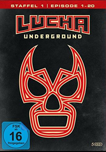 Lucha Underground 1.1 - Episode 1-20 [5 DVDs]