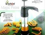 KITCHEN KHAJANA Plastic 20 in 1 Kitchen Press Snacks and Namkeen Maker (Black)