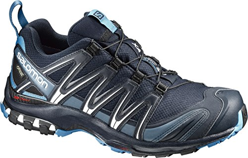 Salomon XA Pro 3D GTX, Zapatillas de Trail Running para Hombre, Azul (Navy Blazer/Hawaiian Ocean/Dawn Blue), 44 EU