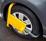 Radkralle Parkkralle Felgenkralle PKW Wohnwagen Anhänger Diebstahlschutz TOP