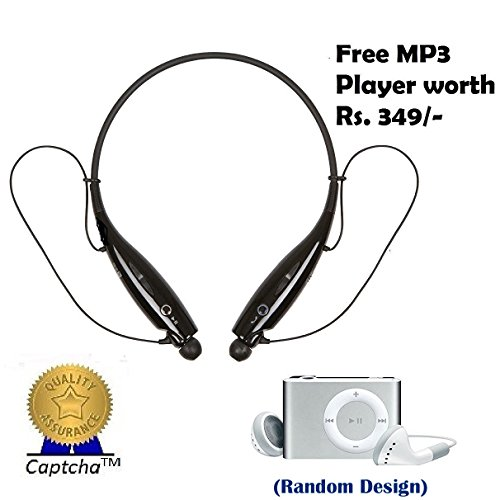 Sony Xperia M5 Dual Compatible Ceritfied Wireless Stereo latest Bluetooth Sports Headphones with Mic (Assorted Color) with FREE GIFT