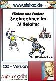 Fördern und Fordern - Kartei Sachrechnen im Mittelalter: CD - Version