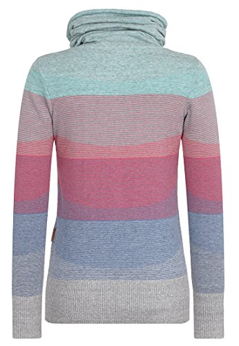 Naketano Female Knit Joao Schmierao Rainbow Melange Striped