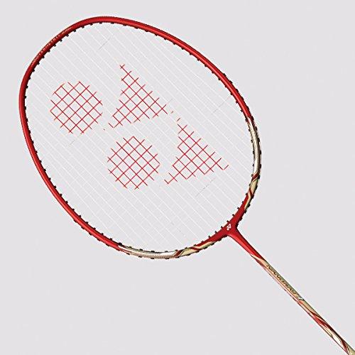 Yonex Nanoray 7AH Badminton Racquet (Deep Red)