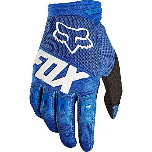 Fox Dirtpaw Race Gloves - Blue, ...