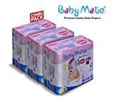 #3: Baby Mate premium quality baby diapers pants ( large pack of 20 * 3)