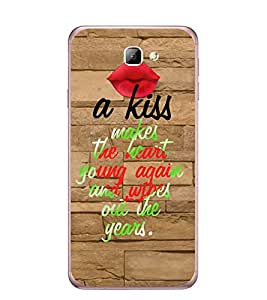 Fuson Designer Back Case Cover for Samsung On7 (2016) New Edition For 2017 :: Samsung Galaxy On 5 (2017) (heart young again and wipes out)