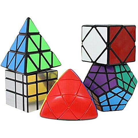 Creation® Shengshou Específico Velocidad Cubo Puzzle Juegos (Incluir Skewb, Megaminx dodecaedro, Pyraminx, espejo,