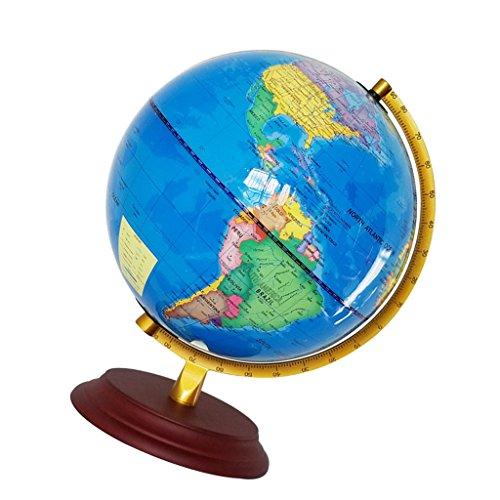 Baoblaze 23cm Beleuchtete Weltkugel Globus Kinderglobus Lernspielzeug für Kinder - Blau
