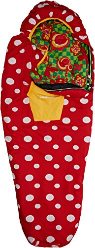 Outwell Kinder Schlafsack Butterfly, Red/White, 165 x 70 x 40 cm