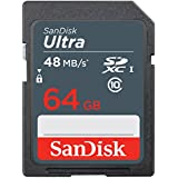 SanDisk Ultra 64GB UHS-I Class 10 SDXC Memory Card (SDSDUNB-064G-GN3IN)