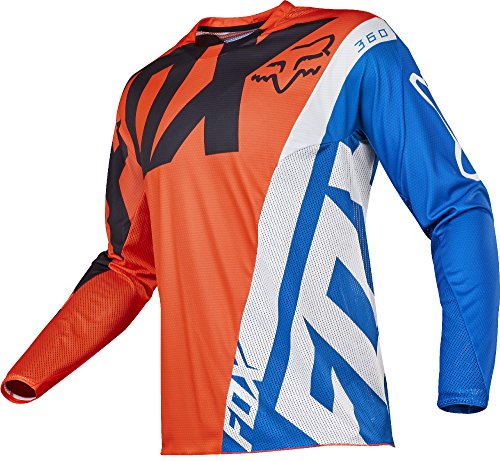 Fox Jersey 360 Creo Orange Gr. L (Fox Mesh Racing Jersey)