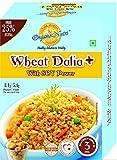 Organo Nutri Wheat Dalia Plus with Soy Power (400 Gms) -2 Boxes
