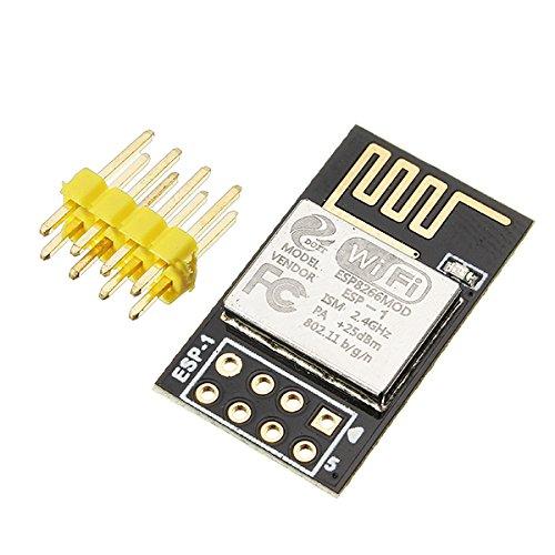 Bluelover 5Pcs ESP8285 ESP-1 serielles drahtloses WiFi Übertragungsmodul, das vollständig mit ESP8266 kompatibel ist
