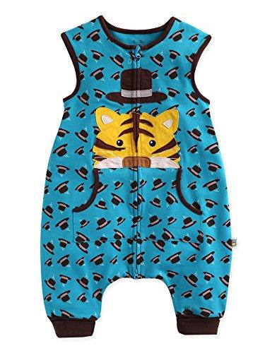 Vaenait baby 80-110 Kleinkinder Jungen 100% Baumwolle Schlafsack Decke Secret Tiger Sleep M