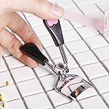 TT & jiemaojia Make-up Wimpernzange/Wimpernformer/Tragbare Mini Wimpernzange/lockiges Lasting, black love Geld