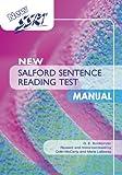 New Salford Sentence Reading Test: Specimen Set
