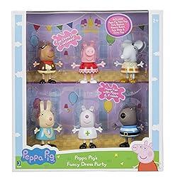 Peppa s Fancy Dress Party 6 Pack Peppa Pedro Pony Emily Elephant Rebecca Rabbitt Suzy Sheep Danny Dog