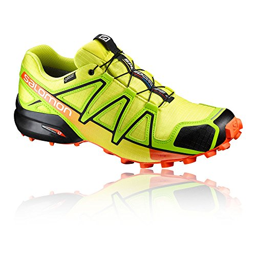Salomon Speedcross 4 Gtx, Scarpe da Trail Running Uomo Yellow
