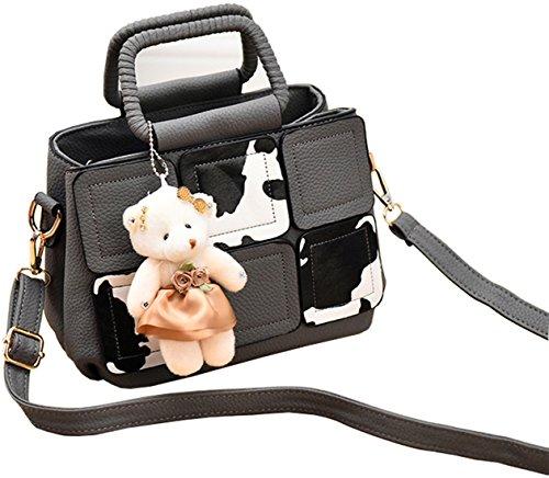I nuovi borsa di cuoio delle signore borsa tracolla borsa del progettista grandi donne borsa a tracolla Borse a mano, vendendo a buon mercato!(DFMP08) d