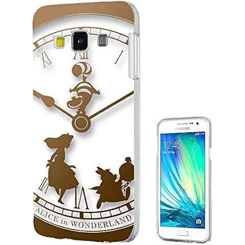 459-Clock Vintage, motivo: Alice nel Paese delle meraviglie, per Samsung