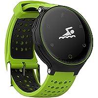 Microwear X2 Smartwatch Bluetooth 4.0 IP68 Sedentario a Prueba de Agua Sueño / Monitor de Ritmo Cardíaco Podómetro (Verde)