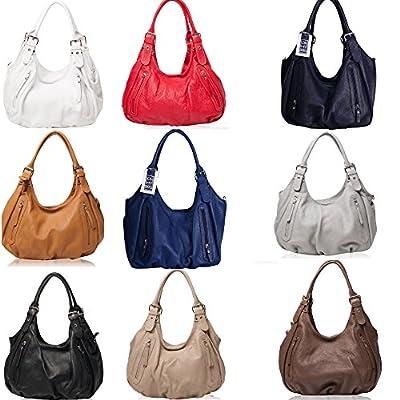 OH MY BAG SOLDES Sac porté épaule Cuir porté épaule main bandoulière et de travers femmes en véritable cuir fabriqué en Italie - modèle ST TROP' SOLDES