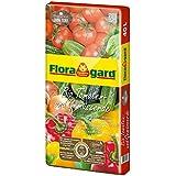 floragard bio de tomates y verduras Tierra sin turba 40L, 114820
