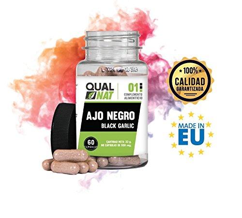 Foto de Ajo negro para fortalecer y aumentar las defensas - Suplemento alimenticio a base de ajo negro natural - Ayuda a proporcionar energía y reforzar el sistema inmune - 60 cápsulas