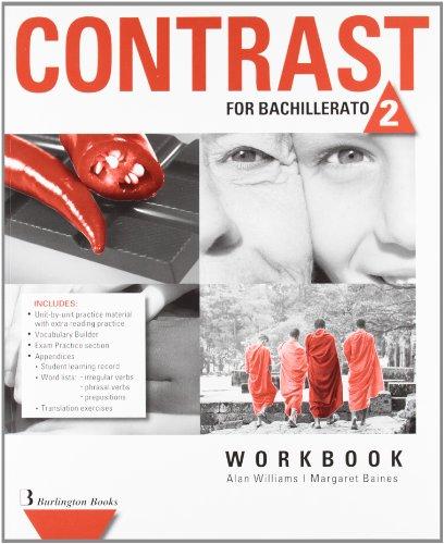 Contrast For Bachillerato 2. Workbook - 9789963485284 por Vv.Aa.