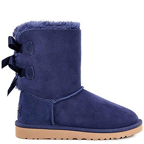 Bootss Ugg Bailey Bow Bleu Bleu