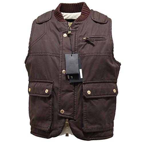 0959N giubbotto DSQUARED giacca senza maniche jacket men marrone [48]