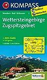 Wettersteingebirge - Zugspitzgebiet: Wanderkarte mit Aktiv Guide, Radwegen und Skitouren. GPS-genau. 1:50000 (KOMPASS-Wanderkarten, Band 5)