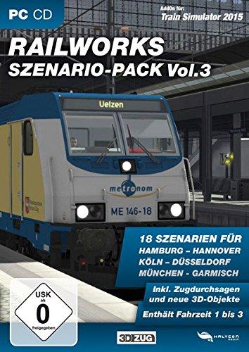Train Simulator Scenery Pack Vol. 3 - Railworks (TS 2014/15)